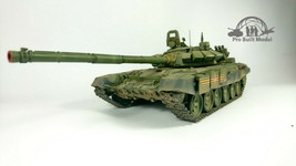 Russian T-72B3 MBT 1:35 Pro Built Model - $247.50