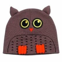 Neff Hooter Brown Owl Beanie