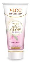 3 x VLCC Ayurveda White and Bright Glow Gel Cream 20g - $12.48