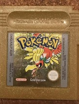 Pokemon: Gold Version UK Nintendo Game Boy colour 1999 - $29.99