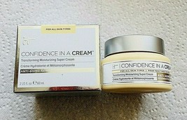 It Cosmetics IT Cosmetics Confidence in a Cream .5OZ  New Never Opened In Box - $29.21
