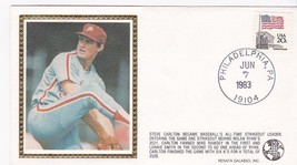 STEVE CARLTON ALL TIME STRIKEOUT LEADER EVENT COVER - $1.78