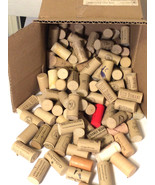 Synthetic Wine Corks Lot of 133 Used for Project Crafts Favors - $15.79