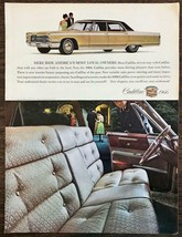 1965 Print Ad for the 1966 Cadillac Here Ride Americas Most Loyal Owners - $11.01