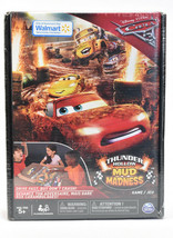 DISNEY PIXAR CARS 3 THUNDER HOLLOW MUD MADNESS Game Spin Master New Sealed - $35.59