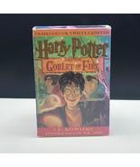 HARRY POTTER JK Rowling cassettes audiobook Goblet of Fire 12 twelve una... - $19.78