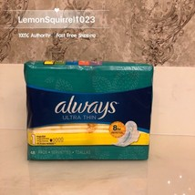 NEW Sealed 48ct. Always Ultra Thin Regular Pads with Flexi-Wings - $12.42