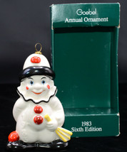 Goebel Annual * CLOWN CHRISTMAS ORNAMENT * 1983 Sixth Edition, Excellent... - $14.84