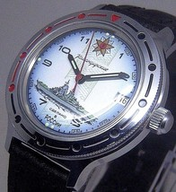 Russian Vostok Military Komandirskie Watch # 921428 New - $51.98