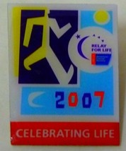 Relay for Life 2007 Pin Tac Cancer Celebrating Life Collectible Vintage - $9.67