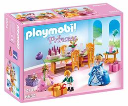 Playmobil 6854 Princess Royal Birthday Party Table Chair Girls Room Bes... - $40.00