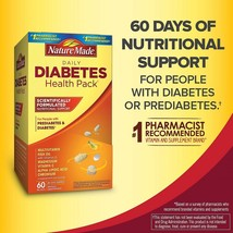 Diabetes Health Pack Nutritional Support for Diabetes and Pre-diabetes 60Packets - $97.48