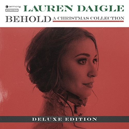 Behold   deluxe   christmas collection by lauren daigle