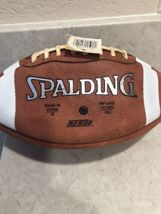 Spalding Tf-100 Silver leather football A10 image 3