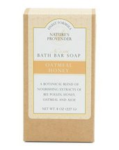 CST Nature's Provender Finest Formula Oatmeal Honey Bath Bar Soap - $12.00