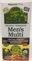 (New) Nature's Plus Source of Life Garden Mens Multi 90 Vegan Tablets - $34.89