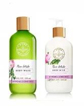 Bath & Body Works Pure Simplicity Rose Water Body Wash & Body Milk 2 Pie... - $36.99