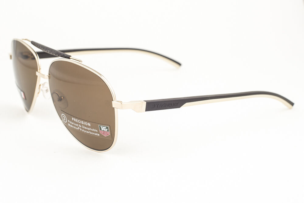 Primary image for Tag Heuer Automatic Dark Brown / Brown Polarized Sunglasses TH0881-214