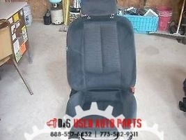 2009 MAZDA 6 RIGHT FRONT BLACK CLOTH SEAT WITH AIRBAG