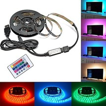 TV Backlight, Topyea LED Bias Lighting (78.7in / 2m) with Remote Control... - €14,74 EUR