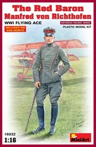 Miniart Models - 16032 - The Red Baron Manfred Von Richthofen WWI Flying... - $20.99