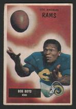 1955 Bowman Football #142 - Bob Boyd - Los Angeles Rams - $8.90
