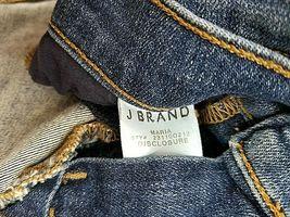 Neuf J Brand Femme Jeans Skinny Maria 23110O212 Divulgation Bleu Sz 22 Pdsf image 11