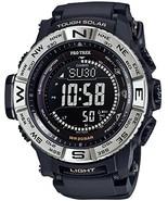 Casio Watch Protrek Electric Wave Solar PRW-3510-1JF Black - $372.10