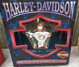 Harley Davidson 1998 North Pole Motorcycle Club Christmas Ornament Engin... - $18.50