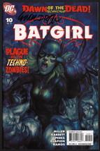 Batgirl #10 SIGNED Chuck Dixon / Batman / DC Comics Art  - $14.84