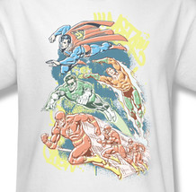green lantern aquaman superheros the flash for sale online graphic white tee dco238 at thumb200