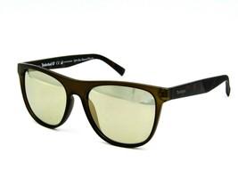 Timberland TB9124 Polarized Sunglasses 97R Dark Green-Tortoise / Green 5... - $39.55