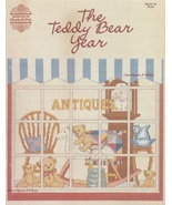 The Teddy Bear Year, Gloria & Pat Cross Stitch Pattern Book 52 NEW - $5.95
