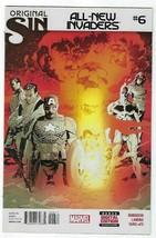 All New Invaders # 6 Marvel Original Sin Comic. - $4.78