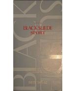 Avon Black Suede Sport 3.4fl 100ml Men's Fragrance *RETAIL BOX ONLY* - $11.57
