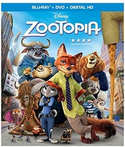 Disney Zootopia (2016) [Blu-ray + DVD + Digital]