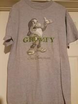Genuine Walt Disney World Grumpy from Snow White Adult (M) Gray SS T-Shirt nwot - $15.67