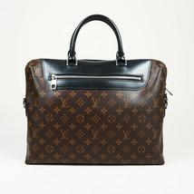 """Louis Vuitton Monogram Coated Canvas """"Porte-Documents Jour NM"""" Briefcase... - $1,460.00"""