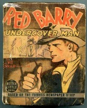 Red Barry Undercover Man Big Little Book #1426 1939 - $56.75