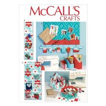 McCall Pattern Company M6909 Organizer and Storage Bins Sewing Template, One Siz - $14.21