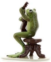 Hagen-Renaker Specialties Froggie Mountain Breakdown Bluegrass Frog Banjo   image 4