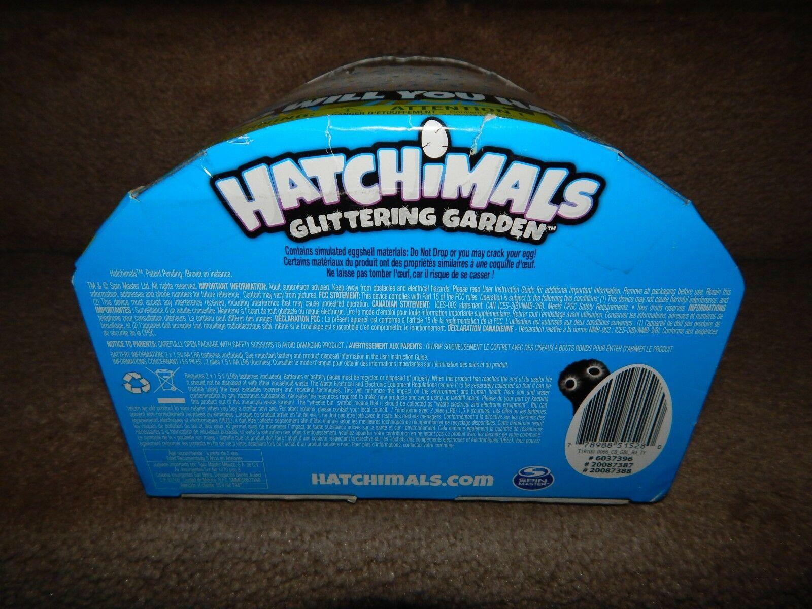 New! Hatchimals Glittering Garden 1 Set Free Shipping 5+ Kids Children