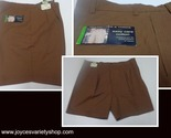 Roundtree   yorke mens shorts brown pinstriped 44 web collage thumb155 crop