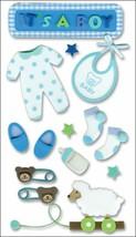 Jolee's Boutique Baby Boy Dimensional Sticker Set