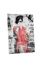 "Pingo World 0711QOCU7T4 ""On The Cat Walk Fashion Clip"" Gallery Wrapped Canvas Wa - $43.51"