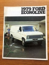 Original 1979 Ford Econoline Brochure - $28.60
