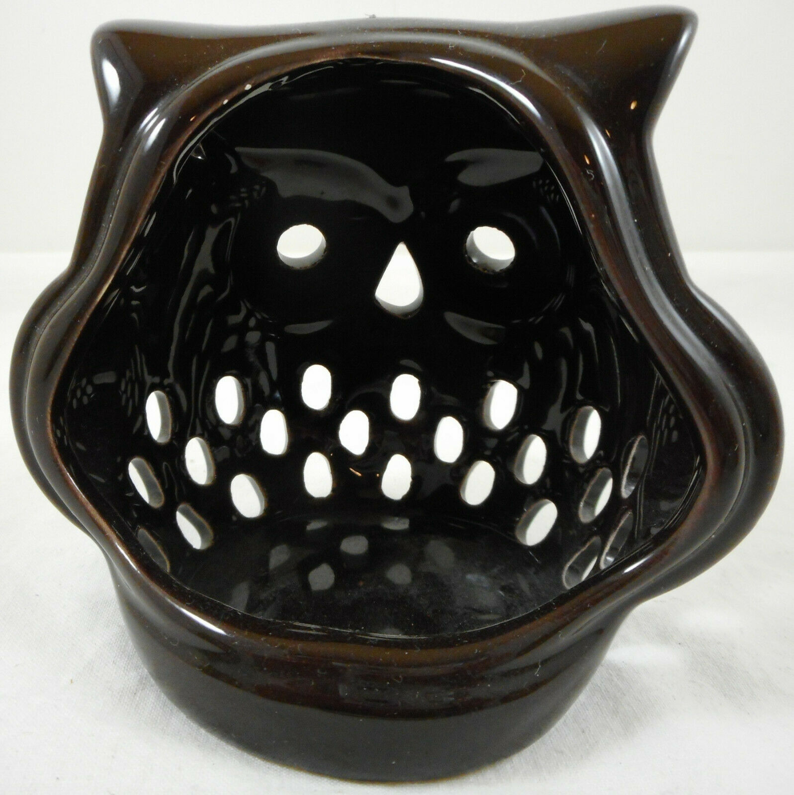 Set of 3 Owl Tealight Candle Holders