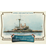 2011 Topps Allen and Ginter Floating Fortresses #FF18 HMS Devastation  - $0.50