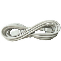 BYBON 12ft 14 AWG SJT Universal Power Cord for computer printer White UL - $13.39