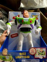NEW! Disney Pixar Toy Story 4 Buzz Lightyear Karate Chop Action Posable - $21.29